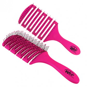 Wet Brush Flex Dry Paddle Hair Brush - Pink