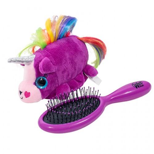 Wet Brush Plush Brush Kids Detangler Hair Brush - Unicorn