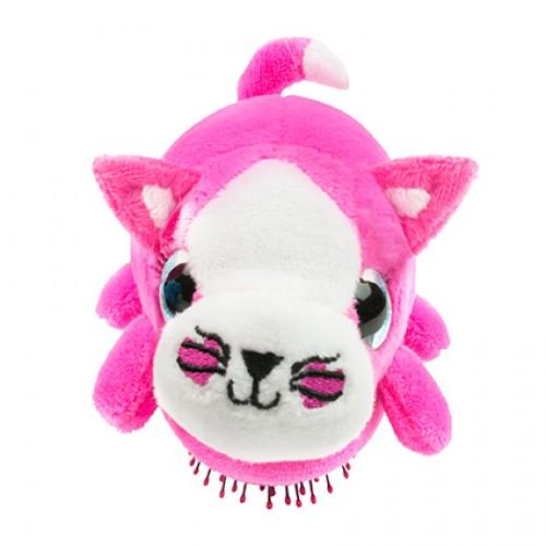 Wet Brush Plush Brush Kids Detangler Hair Brush - Pink Kitty