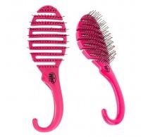 Wet Brush Shower Flex Detangler Hair Brush Pink