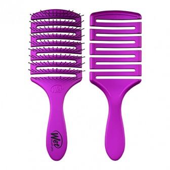Wet Brush Flex Dry Paddle Hair Brush - Purple