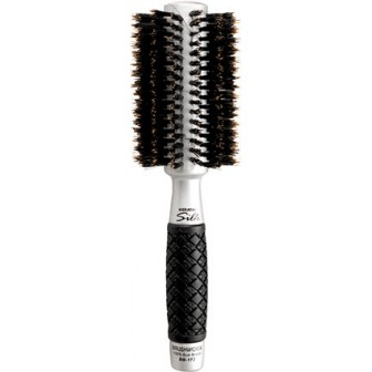 Brushworx Keratin Silk Ceramic Boar Bristle Radial Hair Brush  Medium