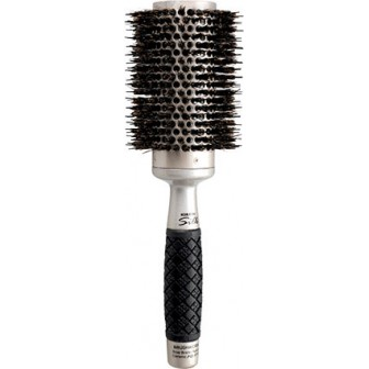 Brushworx Keratin Silk Ceramic Porcupine Hot Tube Hair Brush  Large
