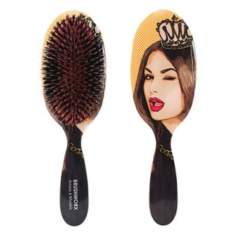 Brushworx Queen of High Maintenance Cushion Brush