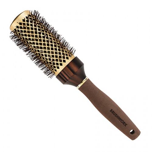 Brushworx Brazilian Bronze Hot Tube Hair Brush Large