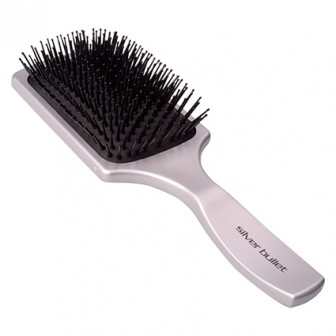 Silver Bullet Paddle Hair Brush, Large