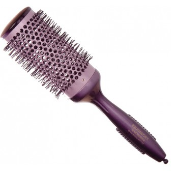 Brushworx Tourmaline Hot Tube Bristle Hair Brush Large 65mm