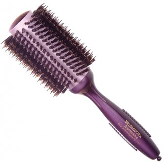 Brushworx Tourmaline Porcupine Radial Hair Brush - Large 72mm