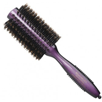 Brushworx Tourmaline Boar Bristle Radial Hair Brush - Medium 64mm
