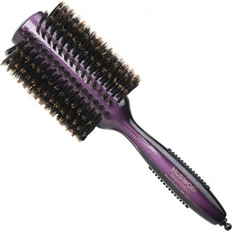 Brushworx Tourmaline Boar Bristle Radial Hairbrush - Large