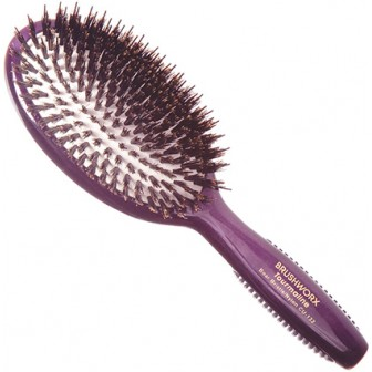 Brushworx Tourmaline Porcupine Oval Cushion Hair Brush