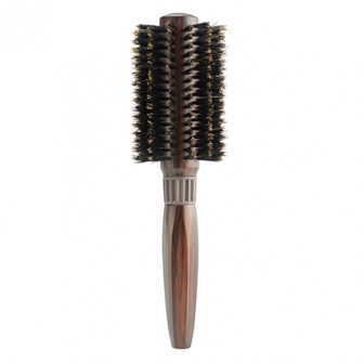 Brushworx Classics Boar Bristle Radial Hair Brush - Large 70mm