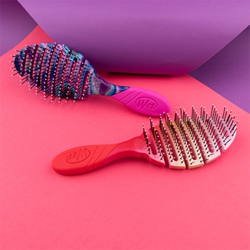 Wet Brush Pro Flex Dry Hair Brush - Coral Ombre