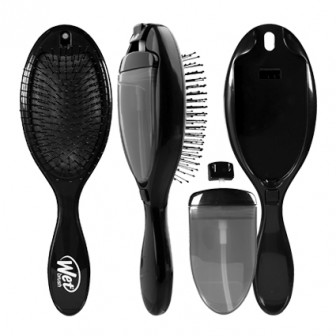 Wet Brush 2-In-1 Treatment Detangling Hair Brush Black