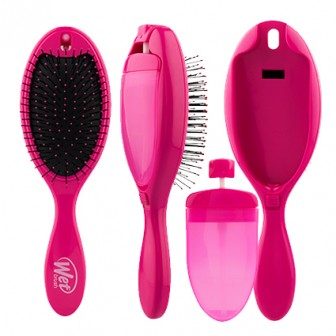 Wet Brush 2-In-1 Treatment Detangling Hair Brush Pink