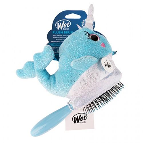Wet Brush Plush Brush Kids Detangler Hair Brush - Narwal