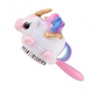 Wet Brush Plush Brush Kids Detangler Hair Brush - Unicorn Pegasus