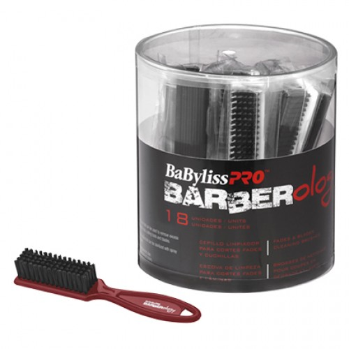 BaByliss Pro Barberology Fade Cleaning Brush 18pc Tub