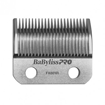 BaBylissPRO Barberology Replacement Hair Clipper Taper Blade Silver FX801R