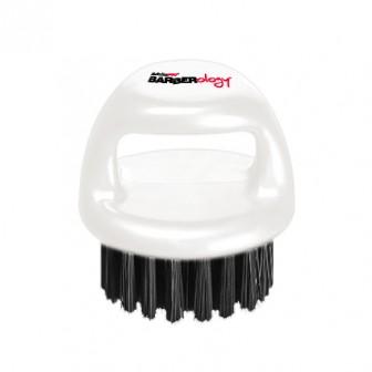 BaBylissPRO Barberology Fade Knuckle Brush White Soft Bristle