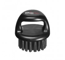 BaBylissPRO Barberology Fade Knuckle Brush Black Firm Bristle