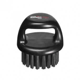 BaBylissPRO Barberology Fade Knuckle Brush Black Firm Bristle