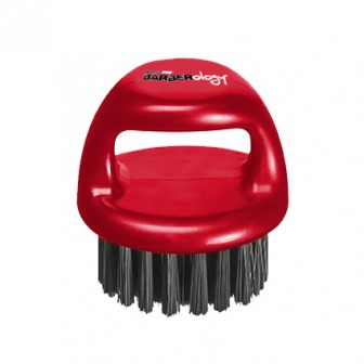 BaBylissPRO Barberology Fade Knuckle Brush Red Medium Bristle