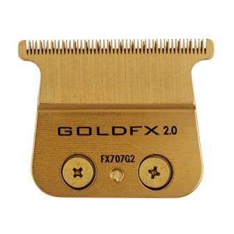 BaBylissPRO Replacement Hair Trimmer Zero-Gap Deep Tooth Blade Gold FX707G2