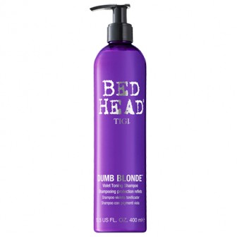 TIGI Bed Head Dumb Blonde Violet Toning Shampoo 400ml