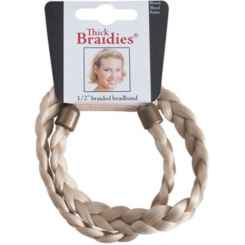 Mia Thick Braidie 13mm Braided Faux Headband ad9ba1e03ba