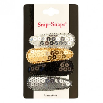 Mia Snip Snaps Classic Sequin Hair Clips
