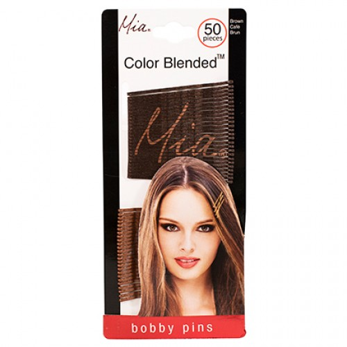 Mia Bobby Pins Colour Blended 50pc