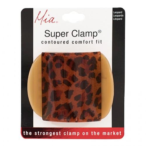 Mia Super Clamp Leopard 1pc