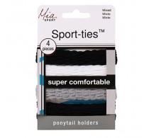 Mia Sport Super Soft Ties 4pc