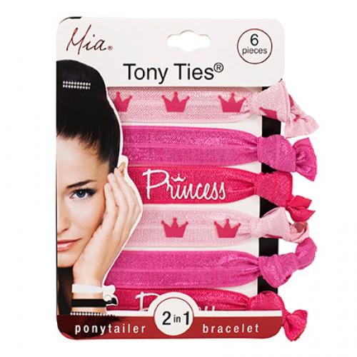 Mia Tony Ties Pink Princess 6pc