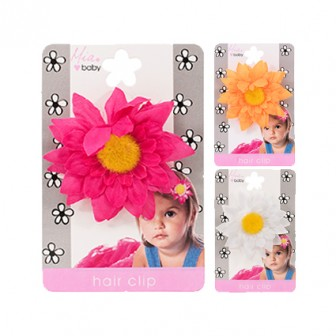 Mia Baby Daisy Flower Hair Clip 1pc