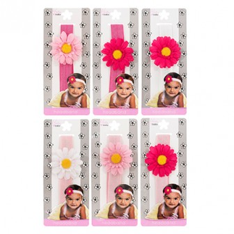 Mia Baby Daisy Flower Headband 1pc