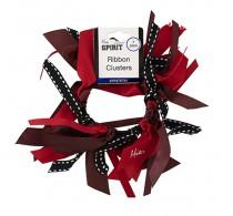 Mia Ribbon Cluster Burgundy 1 Piece
