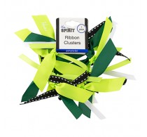 Mia Ribbon Cluster Green 1 Piece