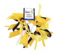 Mia Ribbon Cluster Yellow Gold 1pc