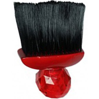 Silver Bullet Red Gem Neck Brush