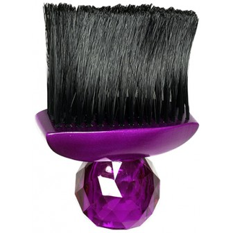 Silver Bullet Purple Gem Neck Brush