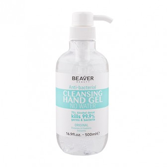 Beaver Anti Bacterial Cleansing Hand Gel 500ml