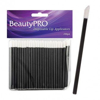 BeautyPRO Disposable Lip Gloss And Lipstick Applicators 100pk