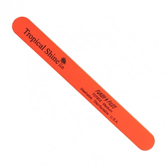 Tropical Shine Nail File Medium Orange
