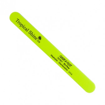Tropical Shine Nail File Extra Fine Yellow