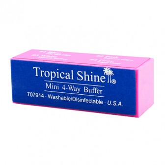 Tropical Shine Nail Buffer Mini 4 Way Buffer Block