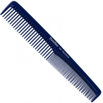 Dateline Professional Blue Celon 400 Styling Comb 17.5cm
