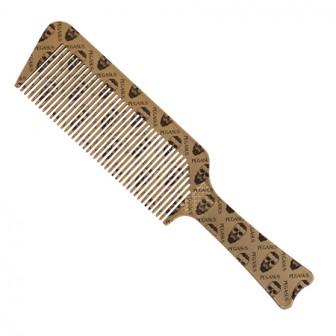 Pegasus Skulleto 514A Flattopper Barber Comb Gold