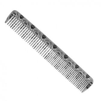 Pegasus Skulleto 202 Styling Comb Silver